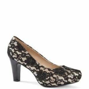 Penningtons Lace Heels 10W